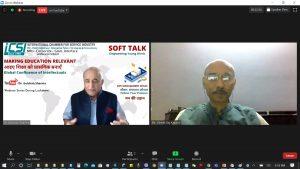 International Chambers of Service Industry webinar by Vineet Raj Kapoor New Education Policy - Making Education Relevant