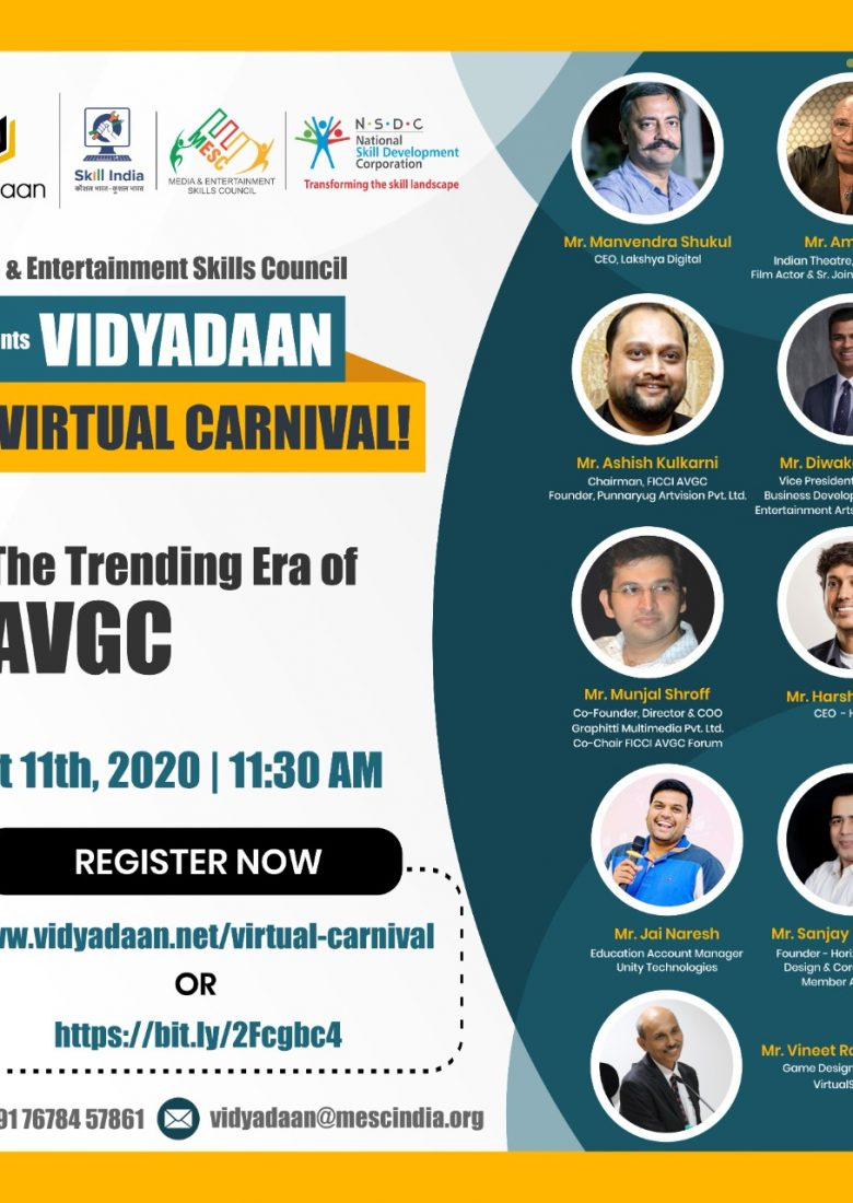 The Trending Era of AVGC - Speaker Vineet Raj Kapoor Vidyadaan carnival