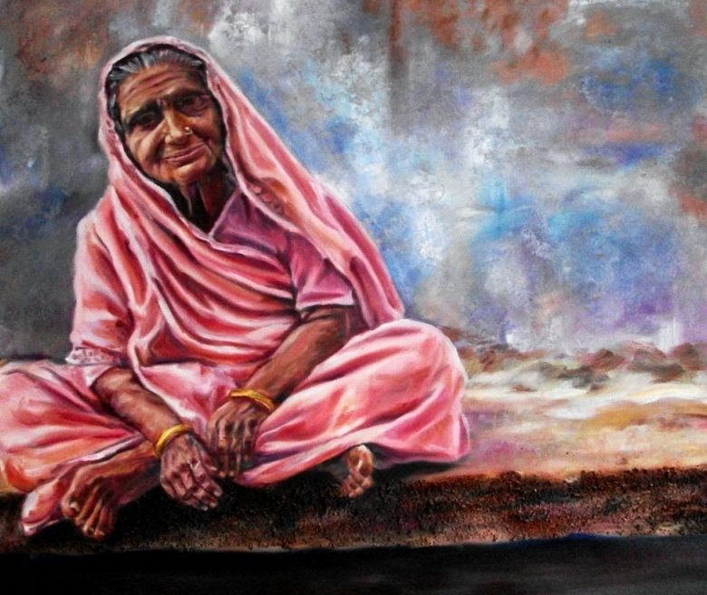 Poem Poetry माँ ते की गुज़री What mother went through