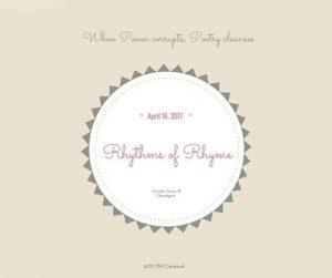 poetry recital - rhythms of rhyme